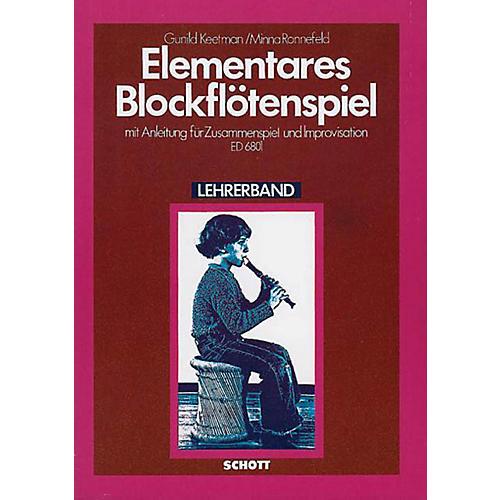 Schott Elementary Blockflotenspielteacher Schott Series