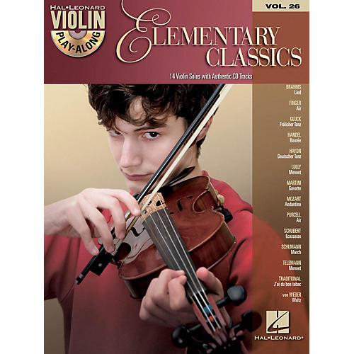 Hal Leonard Elementary Classics - Violin Play-Along Volume 26 Book/CD