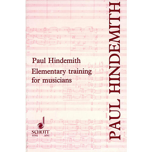 Schott Elementary Training for Musicians Schott Series