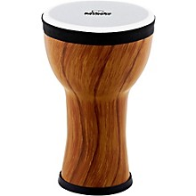 Elements Mini Synthetic Djembe Twisted Amber