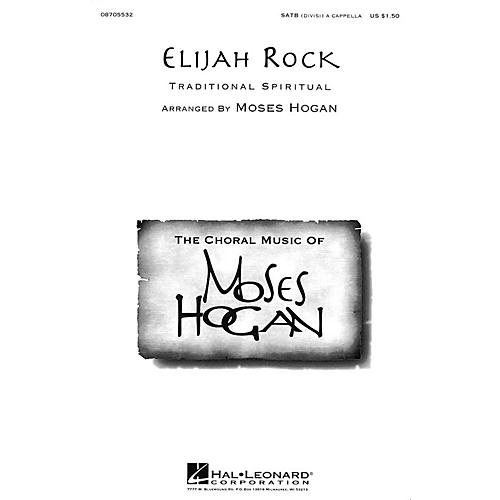 Hal Leonard Elijah Rock SATB arranged by Moses Hogan