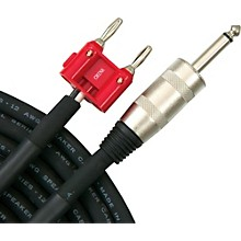 """Livewire Elite 12g Speaker Cable Banana to 1/4"""" Male"""