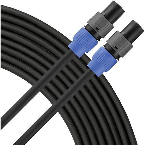 Livewire Elite 12g Speaker Cable Speakon to Speakon 50 ft. Black