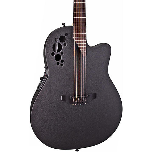 Ovation Elite 1778 TX Acoustic-Electric Guitar Black | Musician\'s Friend
