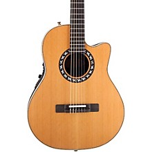 Open BoxOvation Elite AX Mid-Depth Cutaway Acoustic-Electric Nylon String Guitar