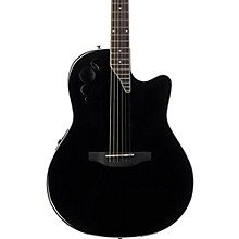 Elite Series AE44II Acoustic-Electric Guitar Black