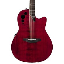 Elite Series AE44II Acoustic-Electric Guitar Ruby Red
