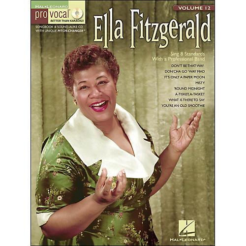 Hal Leonard Ella Fitzgerald Pro Vocal Songbook & CD for Female Singers Volume 12