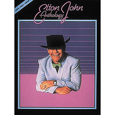 Hal Leonard Elton John Anthology Revised Piano, Vocal, Guitar Songbook