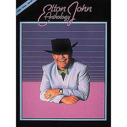 Hal Leonard Elton John Anthology Revised Piano, Vocal, Guitar Songbook