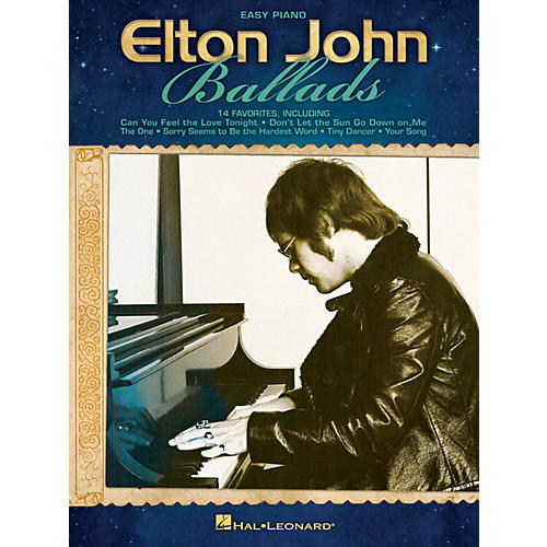 Hal Leonard Elton John Ballads For Easy Piano