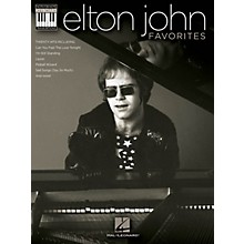 Hal Leonard Elton John Favorites Keyboard Book - Note-For-Note Keyboard Transcriptions