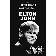 Music Sales Elton John The Little Black Songbook