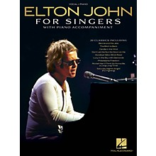 Hal Leonard Elton John for Singers (with Piano Accompaniment) Original Keys For Singers Songbook