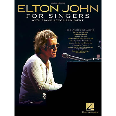 Hal Leonard Elton John for Singers (with Piano Accompaniment) Original Keys For Singers Songbook
