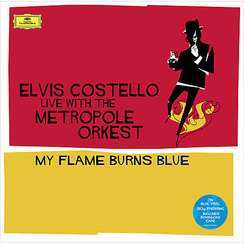 Alliance Elvis Costello - My Flame Burns Blue (Blue Vinyl) (CCVinyl.com Exclusive)