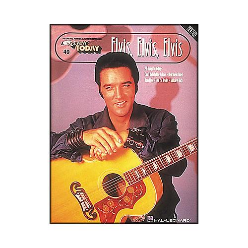 Hal Leonard Elvis, Elvis, Elvis Revised E-Z Play 49