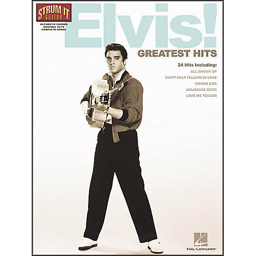 Hal Leonard Elvis! Greatest Hits Guitar Tab Songbook
