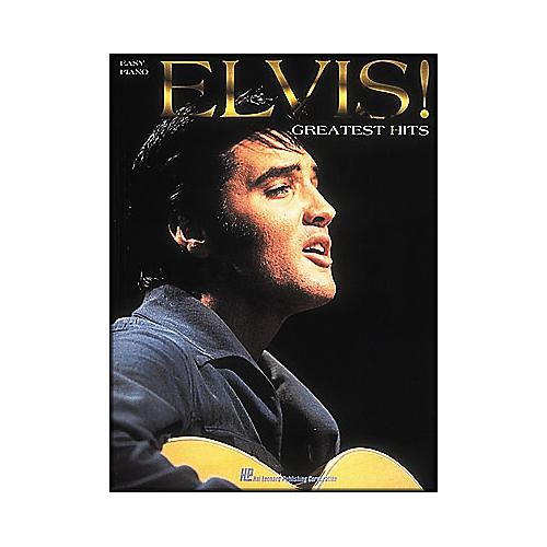 Hal Leonard Elvis! Greatest Hits for Easy Piano