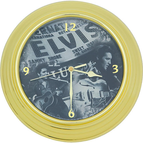 Vandor Elvis 'Live' Wall Clock
