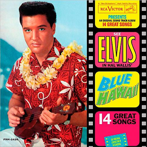 RED Elvis Presley - Blue Hawaii