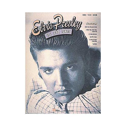 Hal Leonard Elvis Presley - His Love Songs Book