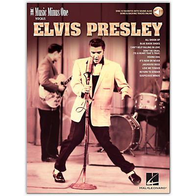 Music Minus One Elvis Presley - Music Minus One Vocals Series Book/Audio Online
