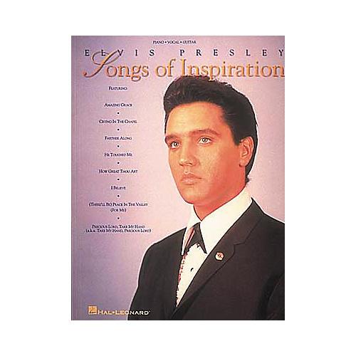 Hal Leonard Elvis Presley - Songs Of Inspiration Book