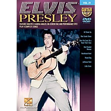 Hal Leonard Elvis Presley (Guitar Play-Along DVD Volume 21) Guitar Play-Along DVD Series DVD by Elvis Presley