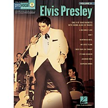 Hal Leonard Elvis Presley (Pro Vocal Men's Edition Volume 23) Pro Vocal Series Softcover with CD