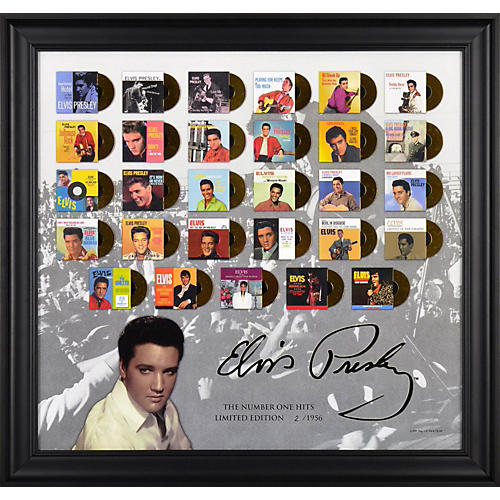 Mounted Memories Elvis Presley