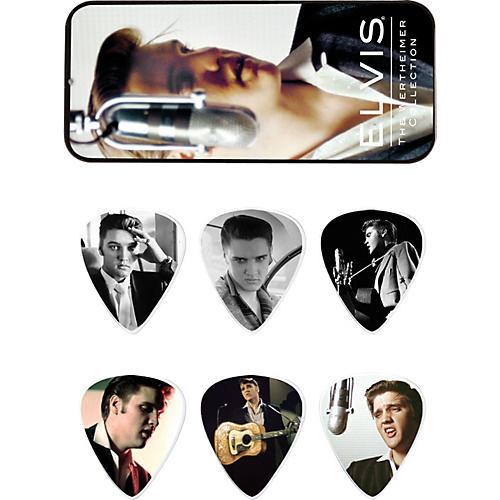 Dunlop Elvis Presley Wertheimer Collection Pick Tin with 6 Medium Picks