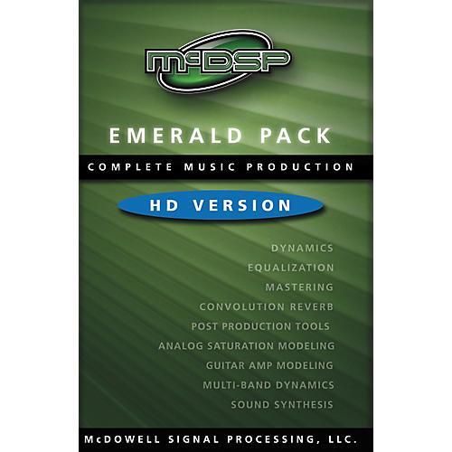 McDSP Emerald Pack 4.0 Software - HD Version