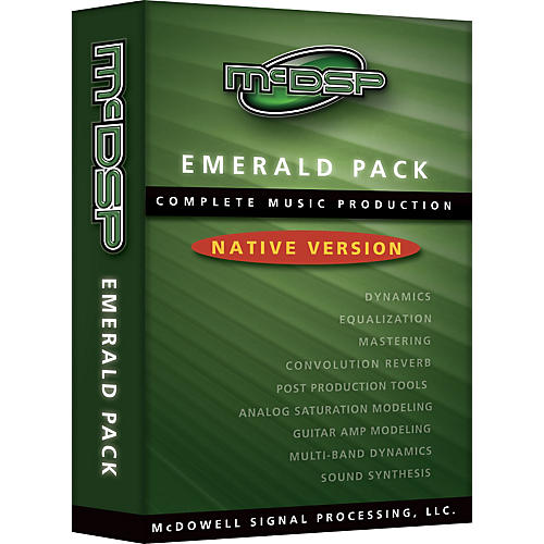 McDSP Emerald Pack 4.0 Software Native Version
