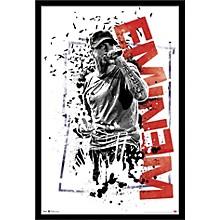 Eminem - Crumble Poster Framed Black