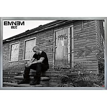 Eminem - LP2 Poster Framed Silver