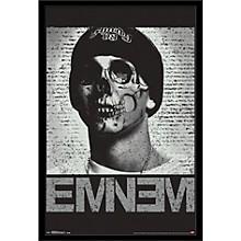 Eminem - Skull Poster Framed Black