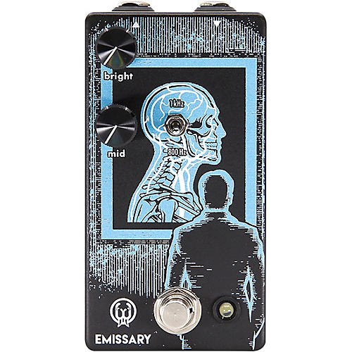 Walrus Audio Emissary Parallel Boost Effects Pedal
