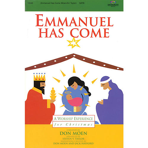 Integrity Music Emmanuel Has Come (A Worship Experience for Christmas) CD ACCOMP Arranged by Steven V. Taylor