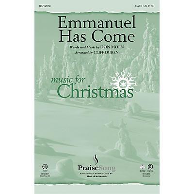 PraiseSong Emmanuel Has Come SATB arranged by Cliff Duren