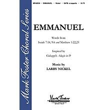 Shawnee Press Emmanuel SATB a cappella