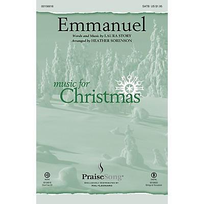 PraiseSong Emmanuel SATB by Laura Story arranged by Heather Sorenson