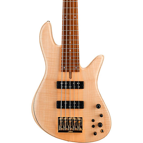 Fodera Guitars Emperor 5 Standard 5-String Electric Bass Clear Satin Finish