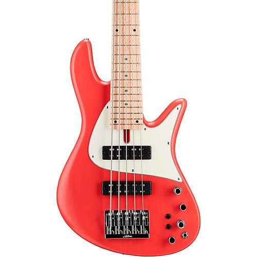 Fodera Emperor 5 Standard Classic 5-String Electric Bass Fiesta Red