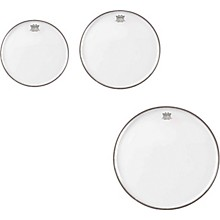 Remo Emperor Clear Tom Drumhead Pack, New Fusion