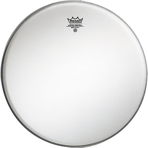 remo emperor coated white bass drum head 18 in musician 39 s friend. Black Bedroom Furniture Sets. Home Design Ideas