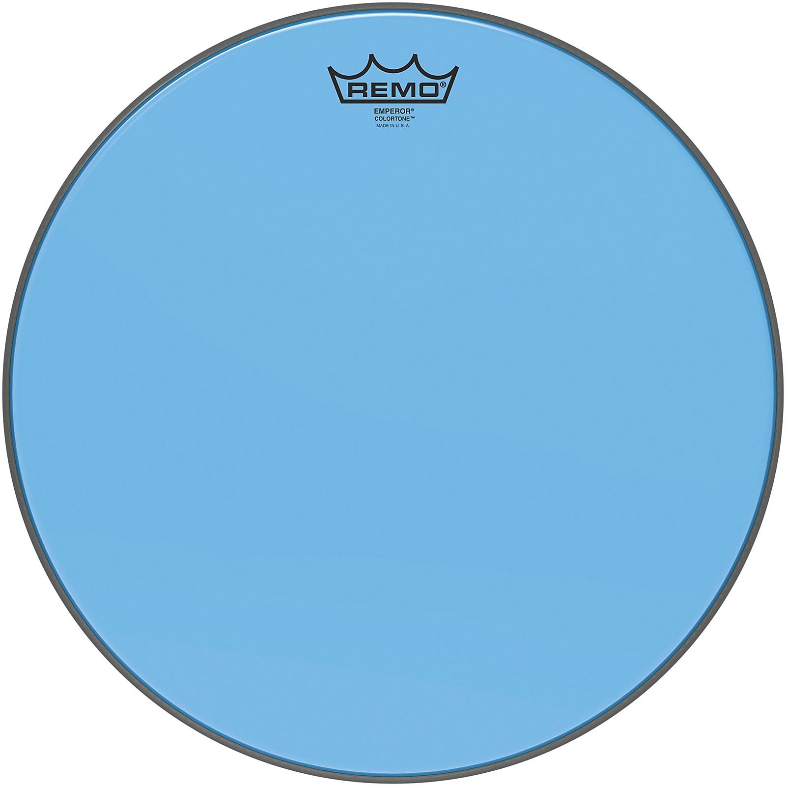 Remo Emperor Colortone Blue Drum Head