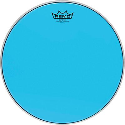 Remo Emperor Colortone Crimplock Blue Tenor Drum Head