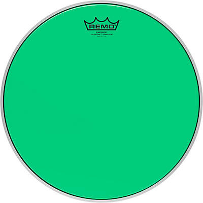 Remo Emperor Colortone Crimplock Green Tenor Drum Head