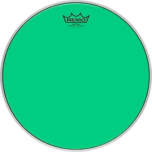 Remo Emperor Colortone Crimplock Green Tenor Drum Head 14 in.